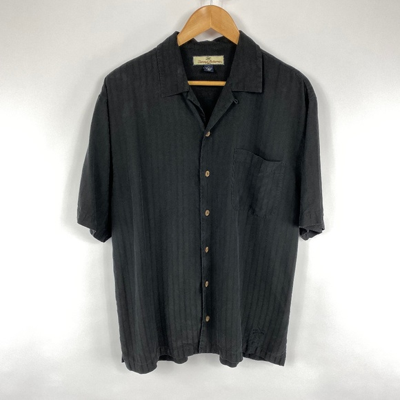 Tommy Bahama Other - Tommy Bahama Mens 100% Silk Button Up Shirt